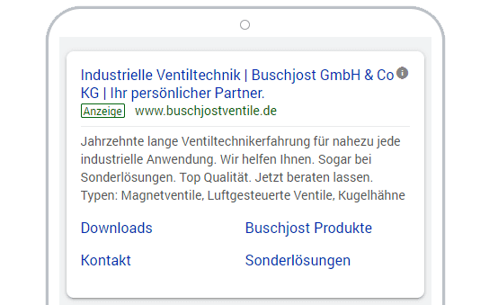 buschjost search ads